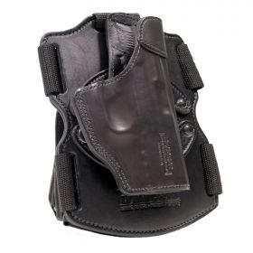 Smith and Wesson Model 586 L-Comp K-FrameRevolver 3in. Drop Leg Thigh Holster, Modular REVO Right Handed