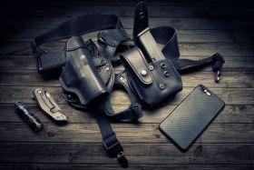 """Smith and Wesson Model M&P 360 1.9"""" J-FrameRevolver 1.9in. Shoulder Holster, Modular REVO Left Handed"""
