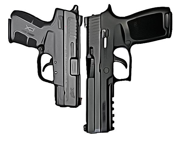Compare sum compact vs full size gun