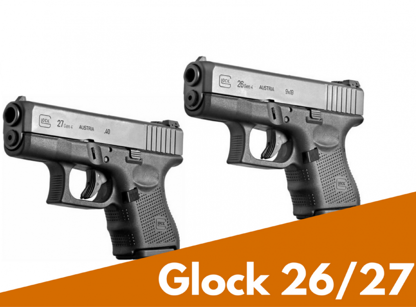 Glock 26 Glock 27 Hd Cleaning Features