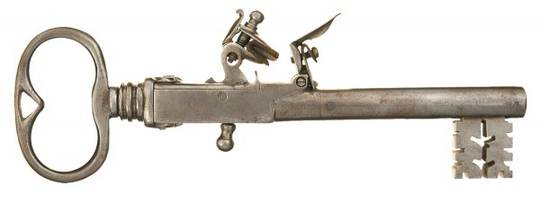 Flintlock Jailers Key