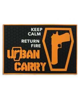 "Urban Carry ""Keep Calm Return Fire"" Patch"