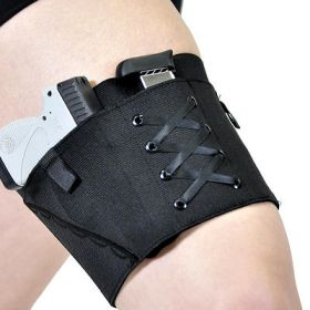 Garter Holster for Compact Firearms by Can Can Concealment