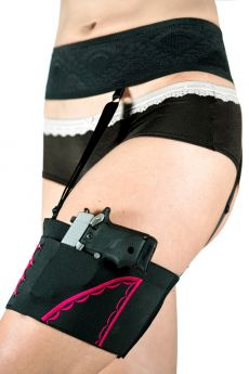 Optional Garter Belt by Can Can Concealment