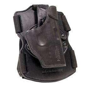 "Smith and Wesson Model 686 4"" K-FrameRevolver  4in. Drop Leg Thigh Holster, Modular REVO Left Handed"