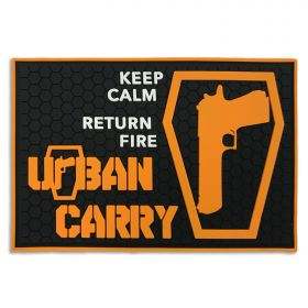 "Urban Carry ""Keep Calm Return Fire"" Patch"