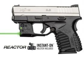 Viridian Reactor 5 Green Laser Sight For Springfield XDS