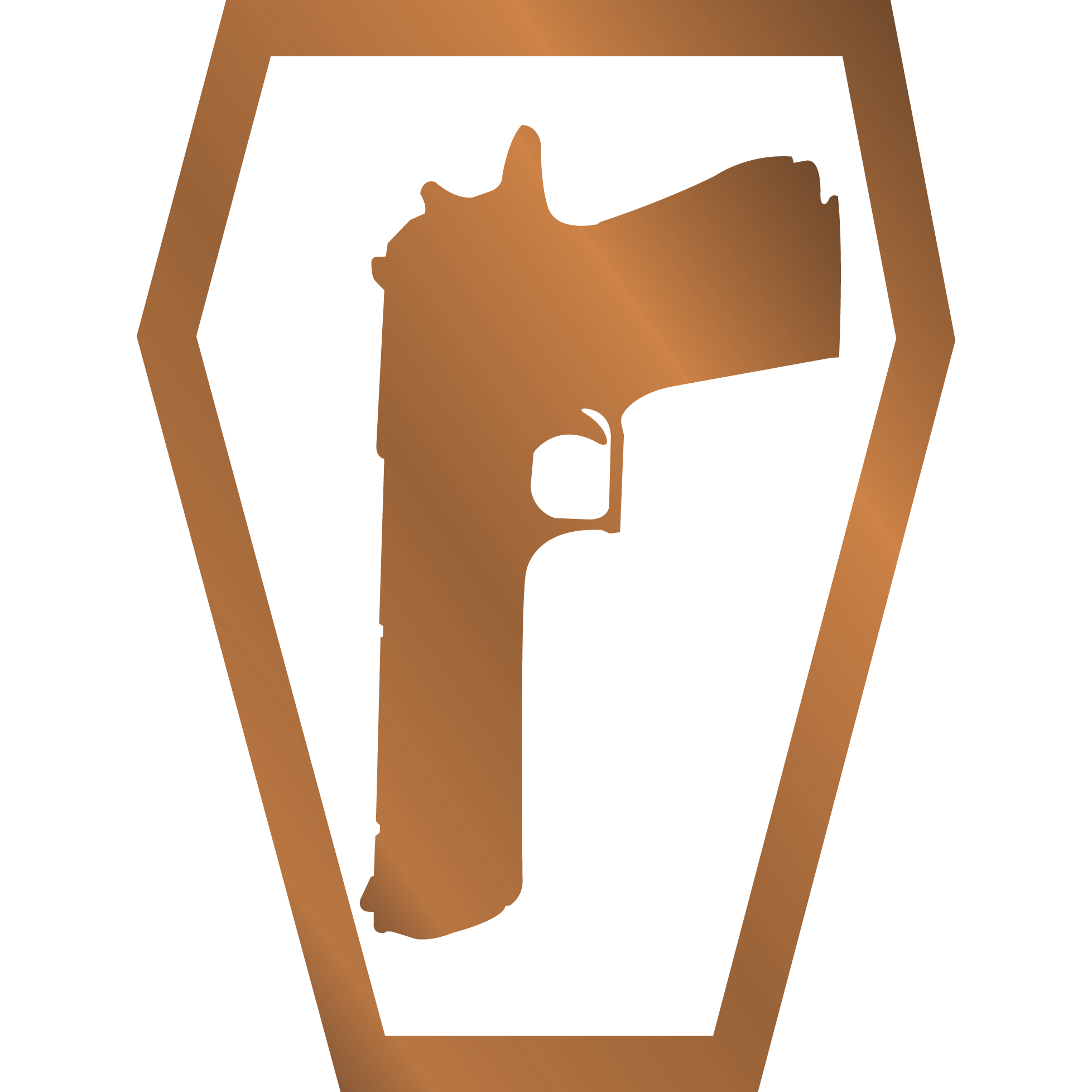 Urbanholster Charter Arms semi-auto UC Lite  38 SPL Revolver Brown No Laser  No Rail Laser G2 (Saddle Grade) Trooper