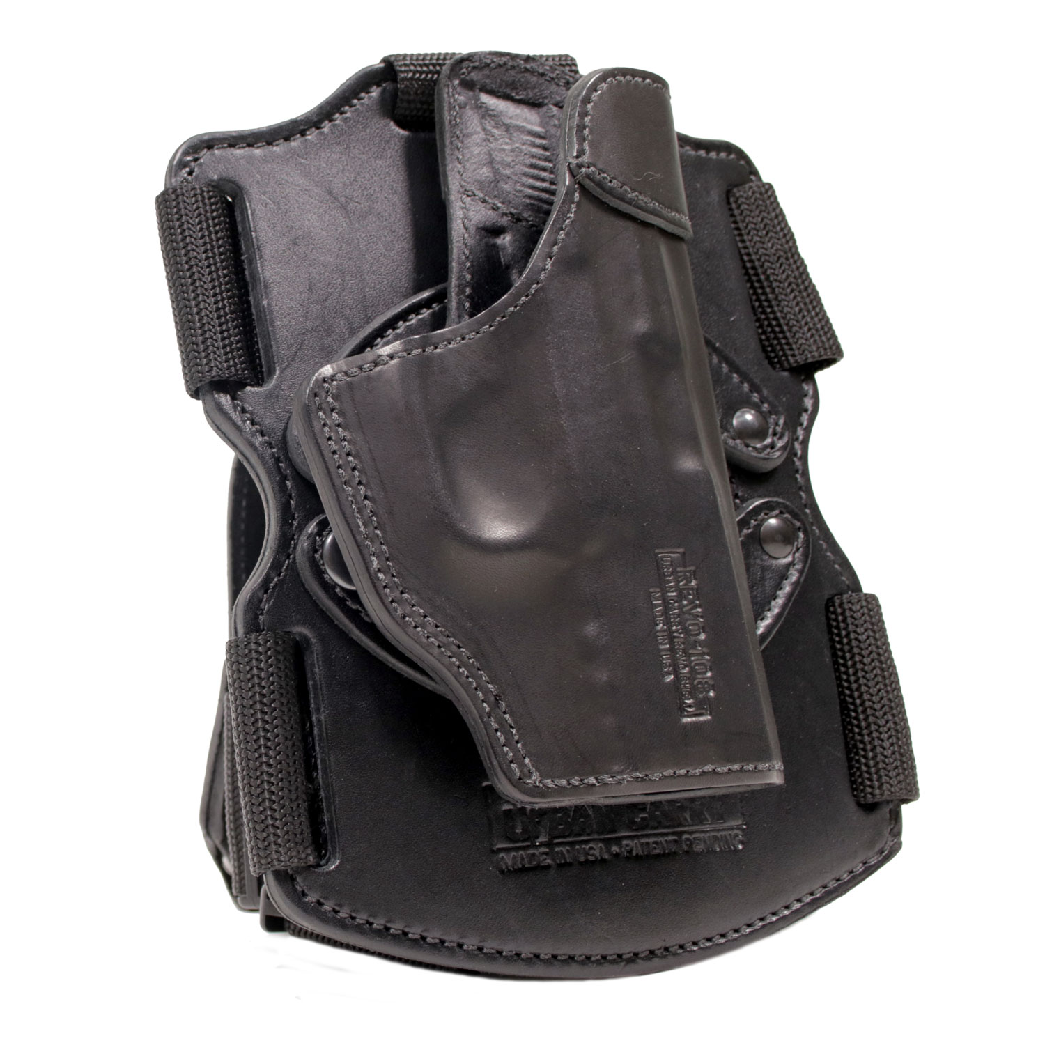Revolver J-Frame 3in  Barrel Drop Leg Thigh Holster, Modular REVO
