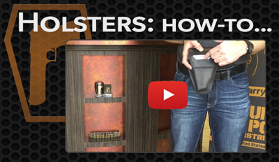 Button holster how to videos