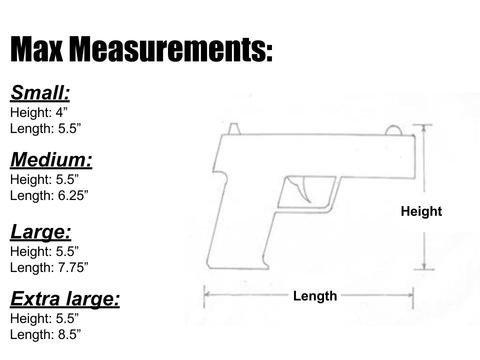 stoker size chart